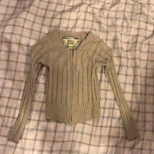 Hollister Zipper Sweater
